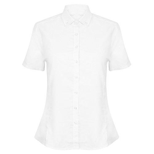 Henbury - Camisas - Manga corta - para mujer blanco