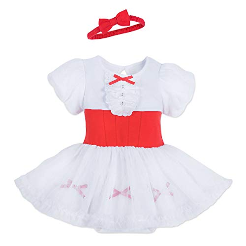 Disney Mary Poppins Costume Bodysuit for Baby Size 18-24 MO Multi ()
