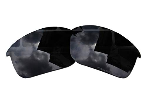 Polarized Replacement Lenses for Oakley Bottle Rocket Sunglasses - 5 Options Available (Stealth Black) (Oakley Bottle Rocket Lenses)