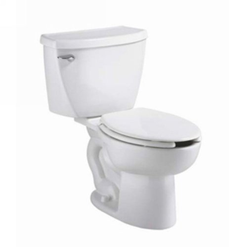 (American Standard 2467016.020 Cadet Right Height Elongated Pressure Assisted Toilet, 1.6 GPF,)
