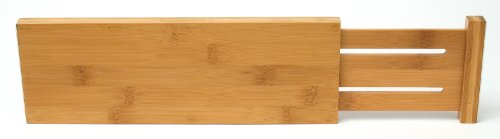 Lipper International 8895 Bamboo Dresser Drawer Dividers,...