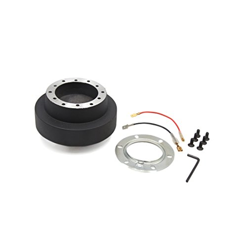 (uxcell Black Auto Car Steering Wheel Quick Release Hub Boss Adapter Kit for BMW E46)