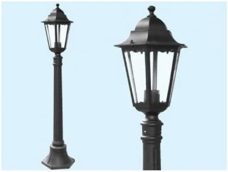 NEW YORK FAROL FAROLILLO A PIE DE DECORACIÓN LUCES LÁMPARAS DE JARDÍN: Amazon.es: Hogar