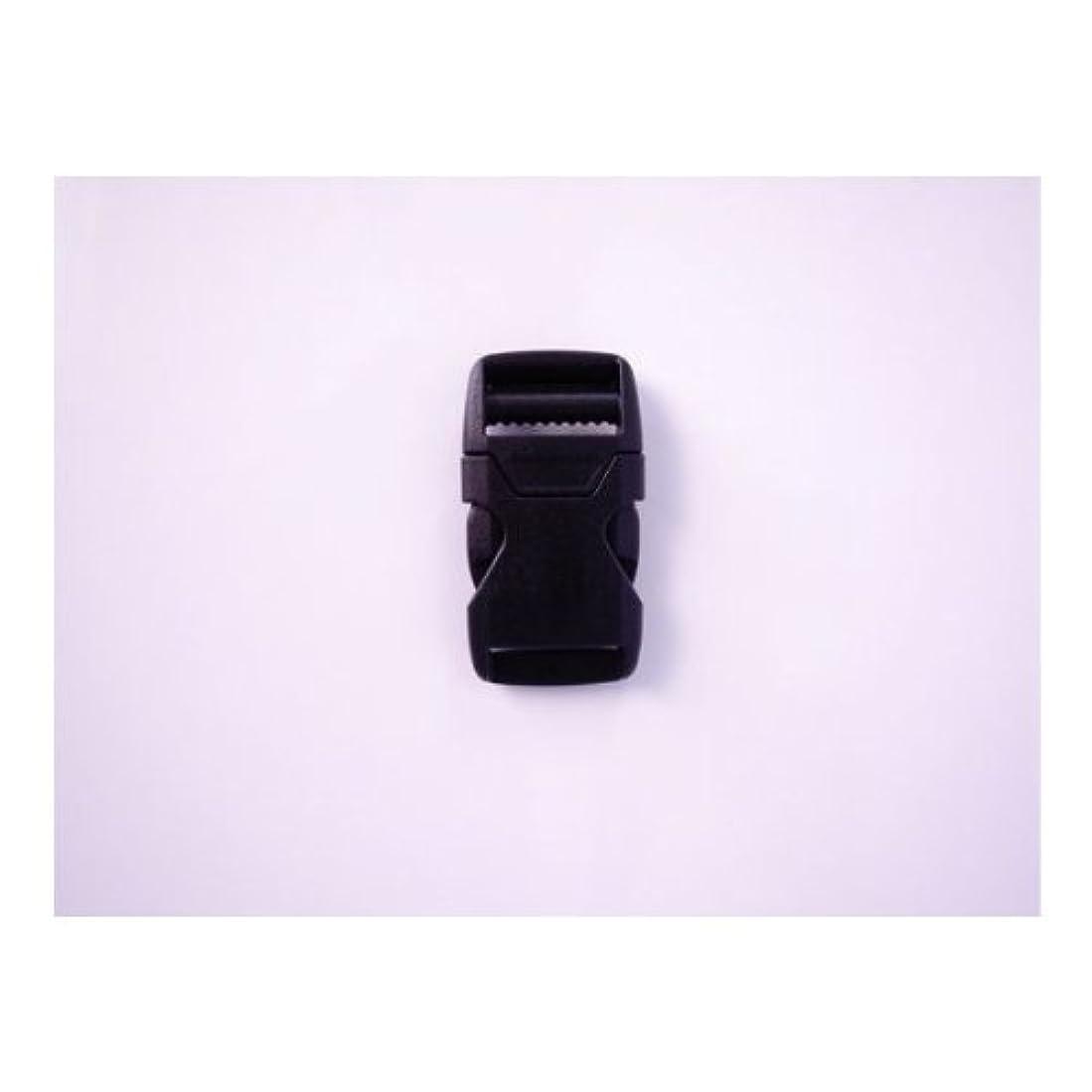 接ぎ木バトル憂鬱なYKK LB30S プラスチック バックル 黒 30mm巾用 ベルトの長さ調節などに