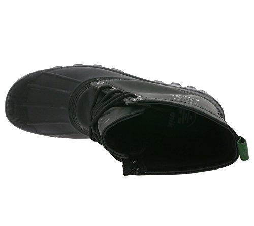 Kamik Yukon Heren Waterdicht Winter Eenden Laarzen Zwart 1