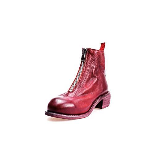Red 12cm Bout à Rond Bottines Courtes Femmes wqXvqzH