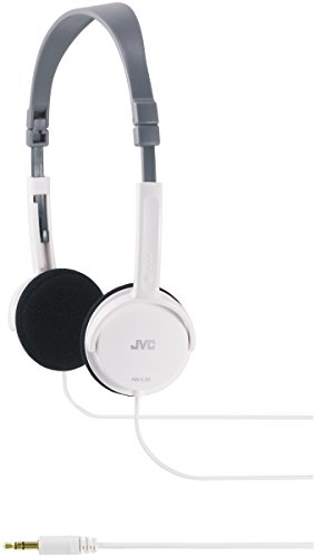 JVC HA-L50W WHITE Foldable Lightweight Stylish Hea...