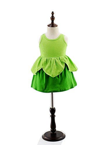 Tinkerbell Classic Girls Costume tinker bell princess dress girls dress