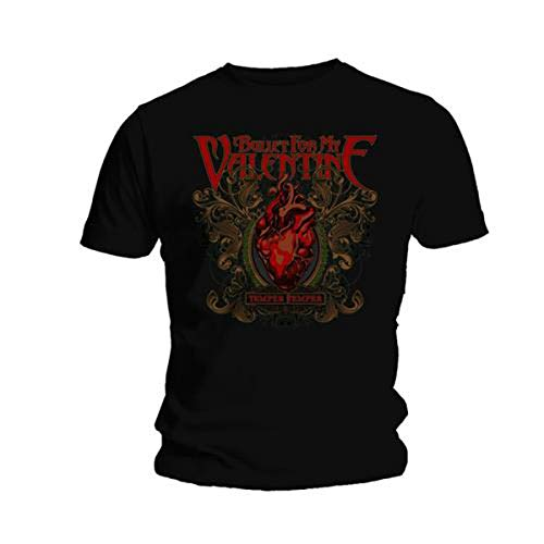 Bullet For My Valentine Temper Temper Official Mens New Black T Shirt All Sizes