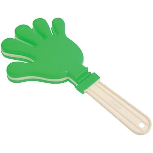 U.S. Toy Green and White Giant Hand Clapper Noisemaker Party Favor by U.S. Toy