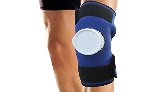 Adjustable Knee Wrap Ice Pack Cold Therapy Therapeutic Sore Compression Swelling: Knee (Elite Kold Knee Ice Wrap)