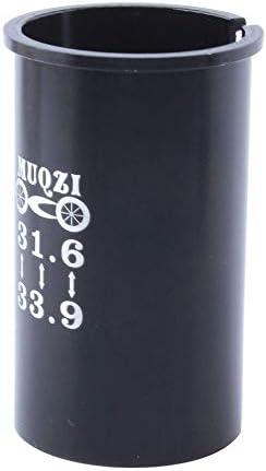 accessori per bicicletta Manicotto riduttore per reggisella per mountain bike Greenwoodhomer 31,6 giri 33.9