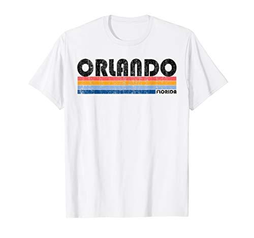 Vintage 1980s Style Orlando FL T-Shirt (Orlando Fl)