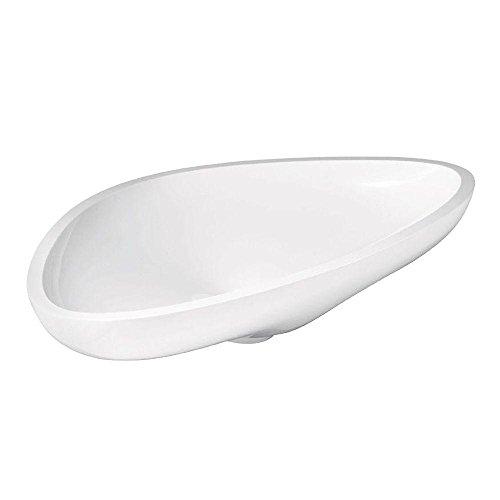 Hansgrohe 42300000 Massaud Vessel Bathroom Sink White ()