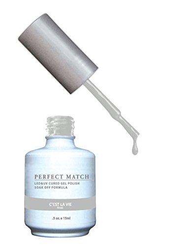 LECHAT Perfect Match Nail Polish, C'est La Vie, 0.500 Ounce
