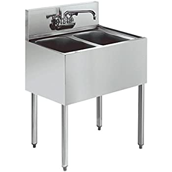 Amazon Com John Boos E Series Stainless Steel Sink 12