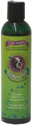 Primp n Shampoo Premium Puppy Dog Horse 4H Animal Shampoo, Coat Brightener, Sensitive Itchy Skin Relief, Odor Eliminator, Non-Medicated Anti-Allergy-Bacterial-Fungal, Recues Love Its Healing Qualities by Primp-n-Poo