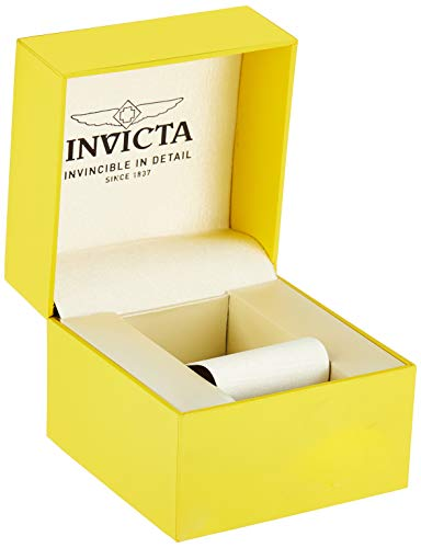Invicta Mens Quartz Watch, Chronograph Display and Stainless Steel Strap 25827