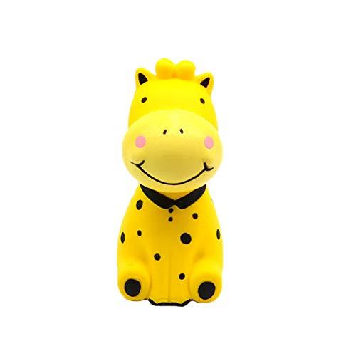 (Exquisite Fun Giraffe Super Slow Rising Squeeze Pressure Stress Reliever Toy)