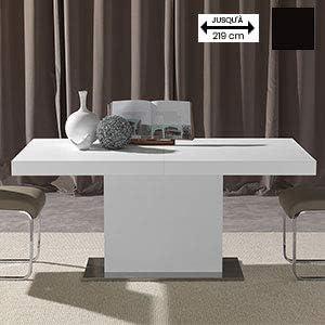 M-029 Mesa de Comedor Extensible Design Blanca Daria: Amazon.es: Hogar