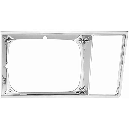 El Camino Headlamp Bezels - RestoParts 99L0074 Headlamp Bezels 1978-79 El Camino/Malibu Original GM Right