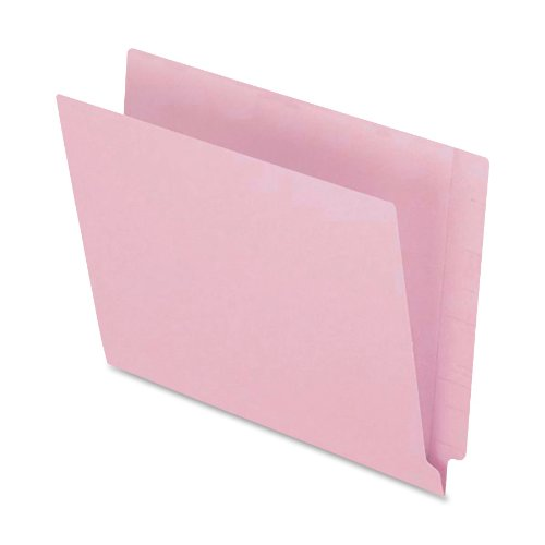 Pendaflex H110DP Pendaflex Reinforced 2-Ply Folders, Straight Cut, End Tab, Letter, PK, 100/Box