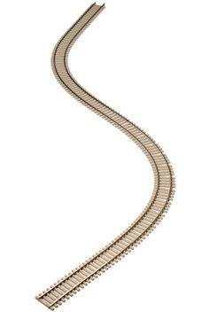 Atlas Code 83 Nickel Silver Super-Flex Track 3' Section w/Concrete Ties HO Scale - Flex Track Code 83 Ho