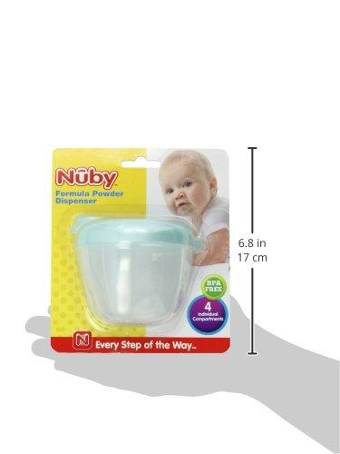 Nuby 4 Compartment Milk Formula Dispenser 1-set Vary Color 5340 Baby Feeding