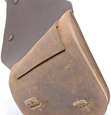 Longride Ranger Saddle Bag Satteltasche Motorradtasche Leder Motorrad-Tasche NEU!