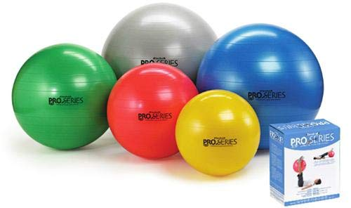 Complete Medical Pro-Series Exercise Ball Slow-Deflate Red 55 Cm from Complete Medical