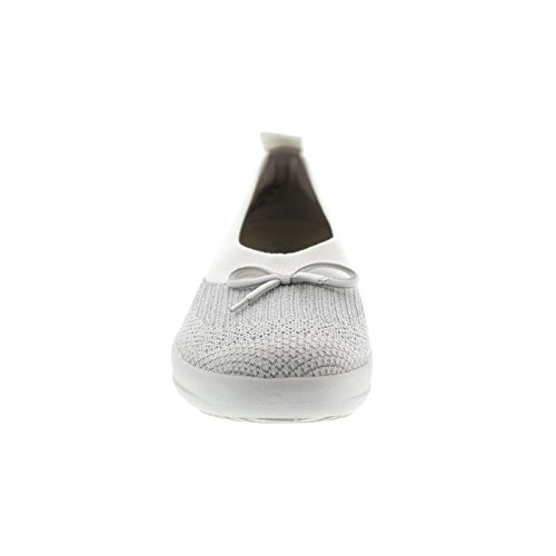 Fitflop Uberknit MetallicBallerines With Bow Bout Fermé Ballerina SUMVpGzq