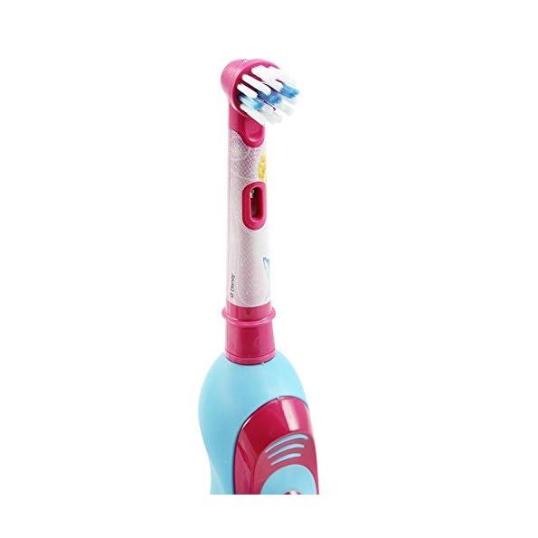 Braun-Oral-B-DB4510K-Stages-Power-Kids-Spazzolino-elettrico-per-bambini-funzionamento-a-batteria-completo-di-accessori-motivo-Cenerentola