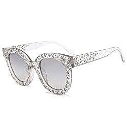 Vintage Star Rhinestone Cat Eye Sunglasses
