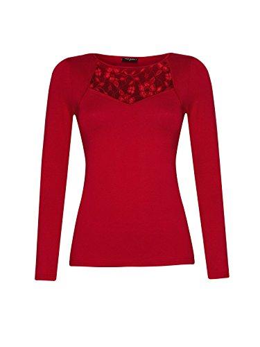 Vive Maria Red Boheme Longsleeve Langarm-Shirt rot