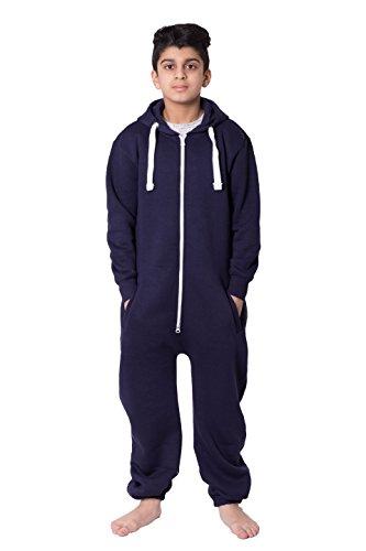 11//12 Parsa Fashions Malaika/® Childrens Unisex Aztec Print Hooded Zip Up Onesie Jumpsuit Kids Girls Boys Fleece All in One Onesie Sizes Age 7//8 9//10 13 Years