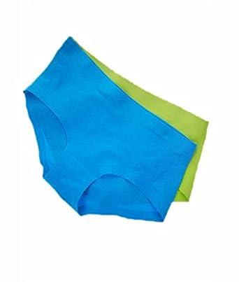 eClick India Seamless Microfiber Hipster Panties Pk-2, Ultra Thin
