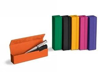 Moleskine ER1MCM2 - Estuches duros para bolígrafos y lápices, color amarillo anaranjado