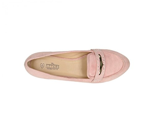 Pink MF Women's Fitters Light Flats Footwear pink Ballet HnYPwR