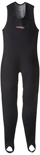 Camaro Men's Baselayer Titanium 2mm Zipperless Full Wetsuit, Silver/Black, -