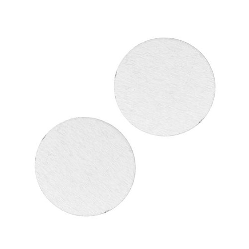 Aluminum Blank Circle Stamping Silver 19mm (2) (Lillypilly Aluminum Circle)
