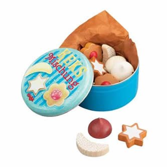 Haba Wooden Food (Assorted Little Cookies w/Tin)