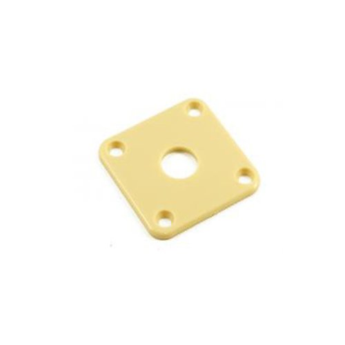 - Gibson Style Les Paul Plastic Jackplate Cover Cream P100IV