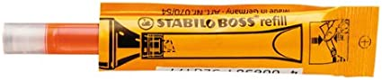 Refill STABILO BOSS Highlighter Refill Box of 20 Yellow