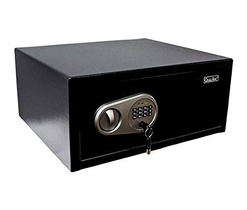 Qualarc NOBL-20EL Electronic Digital Home and Office Security Solid Steel Safe with Keypad Lock 1 Cubic Foot 1 cu'