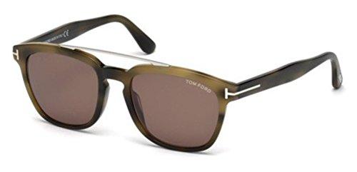 Sunglasses Tom Ford HOLT TF 516 FT 55E coloured havana / - Sunglasses Tf