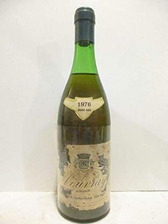 vouvray gérard faucheux hardoin demi-sec (étiquette fragile) moelleux 1976 - loire - touraine