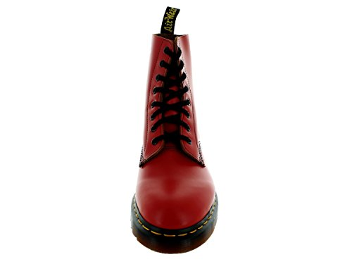 Dr. Martens Unisex-Adult Croco Pascal Lace Up Boot Red 4XnPumF
