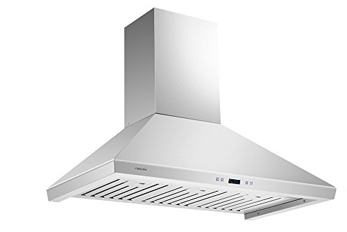 CAVALIERE SV218F-36 Wall Mounted Stainless Steel Kitchen Range Hood 900 CFM by CAVALIERE (Image #1)
