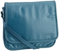 Travelon Luggage Safe Id Expandable Crossbody Bag, Teal, One Size