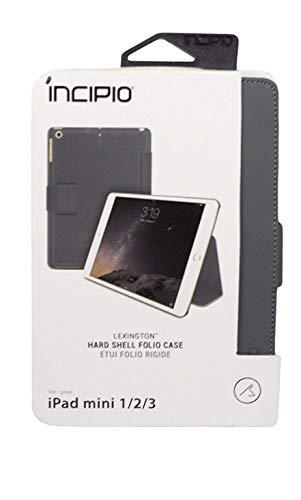 New Original INCIPIO Lexington Leather Gray Folio Case for A